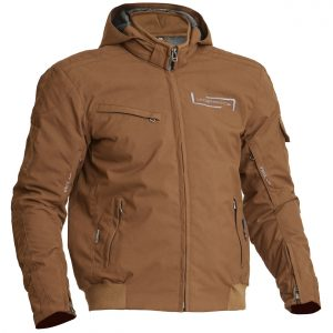 Lindstrands Uvan Textile Waterproof Motorcycle Jacket Brown