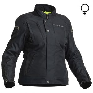 Lindstrands Zagreb Lady Textile Waterproof Motorcycle Jacket Black