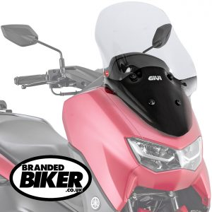Givi 2153DT Clear Motorcycle Screen Yamaha N Max 125 2021 on