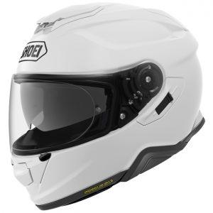 Shoei GT Air 2 Motorcycle Helmet Plain Gloss White