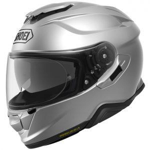 Shoei GT Air 2 Motorcycle Helmet Plain Light Silver