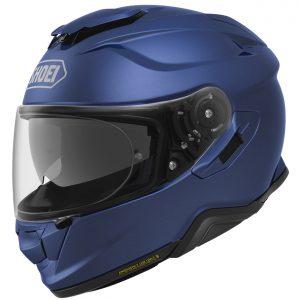 Shoei GT Air 2 Motorcycle Helmet Plain Matt Blue