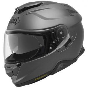 Shoei GT Air 2 Motorcycle Helmet Plain Matt Deep Grey