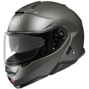 Shoei Neotec 2 Motorcycle Helmet Plain Anthracite