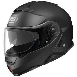 Shoei Neotec 2 Motorcycle Helmet Plain Matt Black