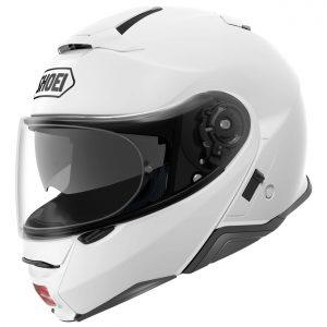 Shoei Neotec 2 Motorcycle Helmet Plain Gloss White